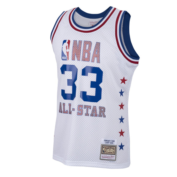 Rhinestone Swingman Jersey All-Star East 1988-89 Larry Bird
