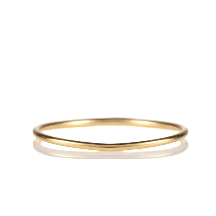 14K Yellow Gold Stack Band