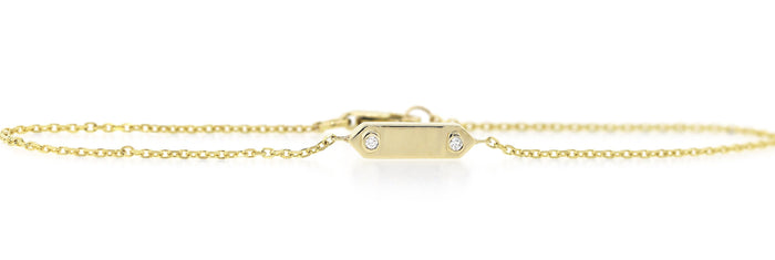 Gold Plaque Bracelet