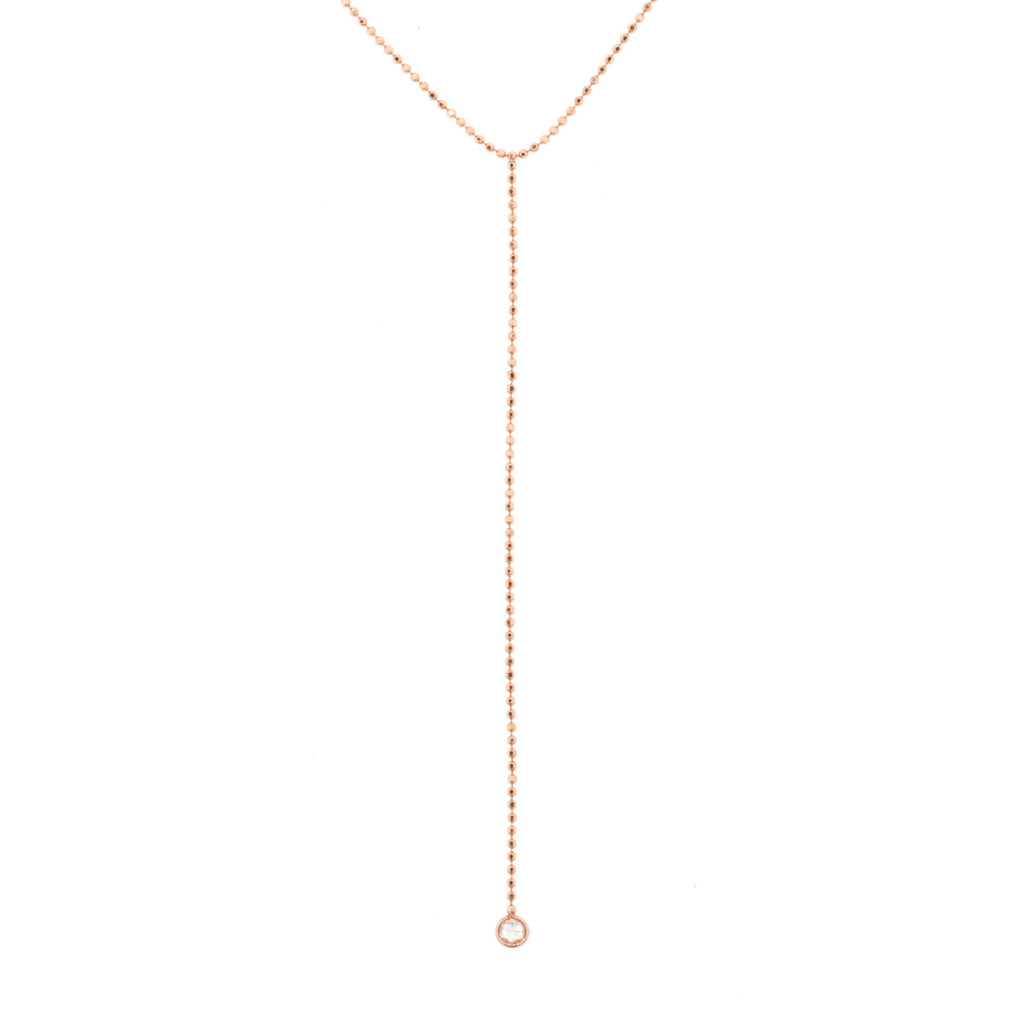 Rose Cut Lariat