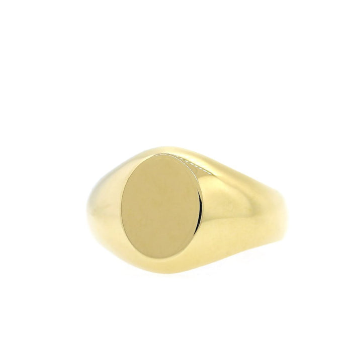 Round Gold Ring XL