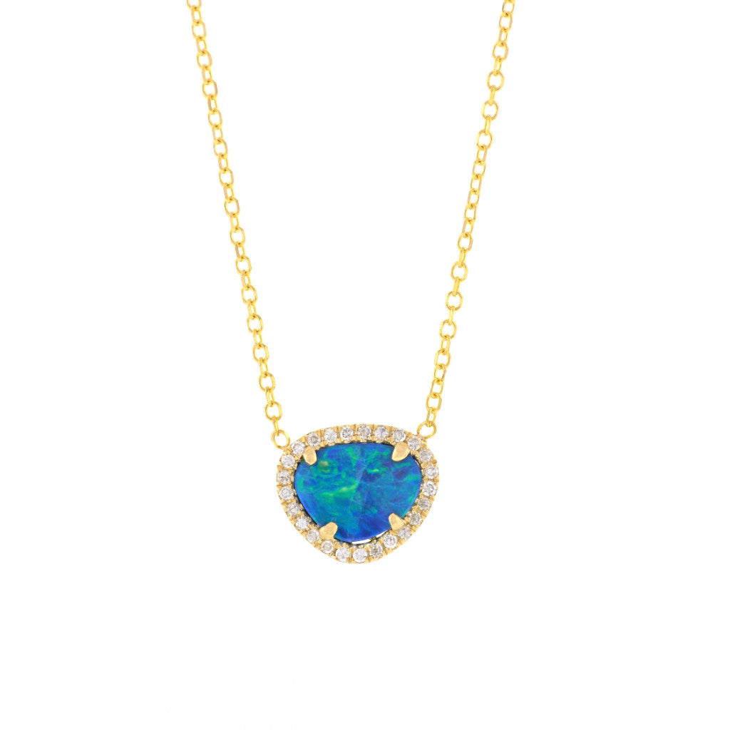 Opal Necklace-Rose