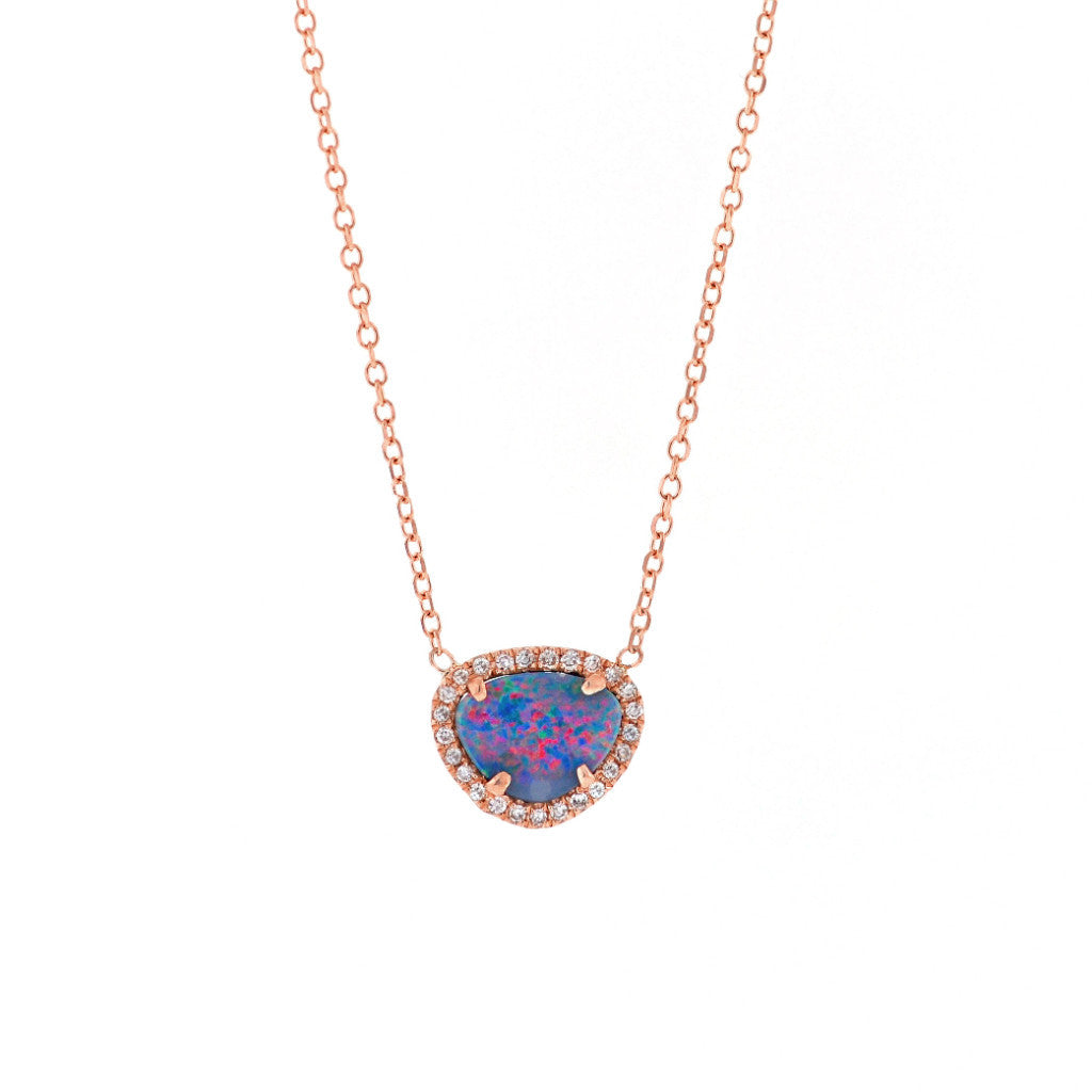Opal Necklace-Yellow