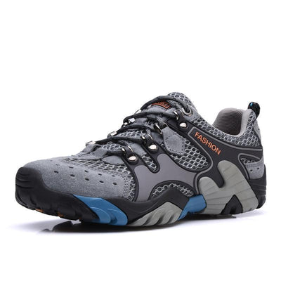 Mens Leather Hiking Shoes