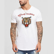 Leisure Sports Printing Short Sleeve T-Shirt