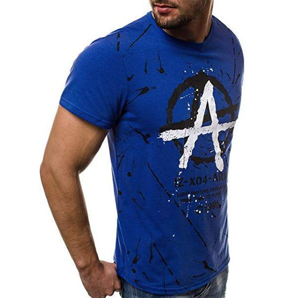 Fashion Graffiti Style Short Sleeve T-Shirt