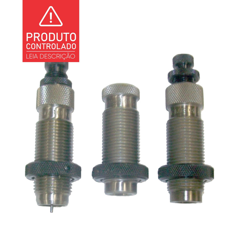 Dies Redding Titanium Carbide Progressive Series (Conj. 3 pçs) - PCE - Recarga Club