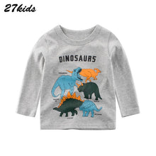 Load image into Gallery viewer, Dinosaur Boys T Shirt