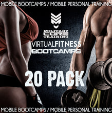Load image into Gallery viewer, VIRTUAL BOOTCAMP - 20 PACK - MilitaryCoreTraining