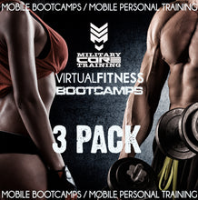 Load image into Gallery viewer, VIRTUAL BOOTCAMP - 3 PACK - MilitaryCoreTraining