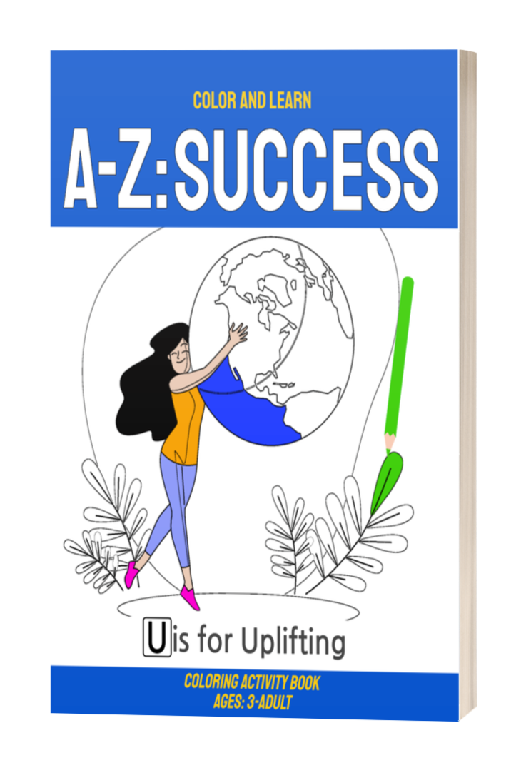A-Z: Success coloring book - Side Hustle Market