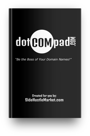 Domain Name Journal (dotComPad) - Side Hustle Market