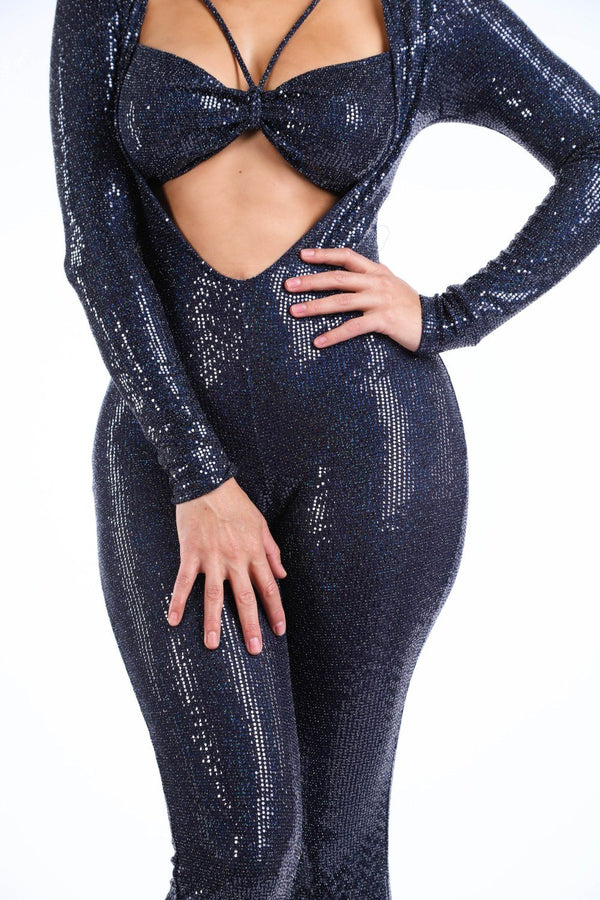 Bikini Top Long Sleeve Jumpsuit demochatbot