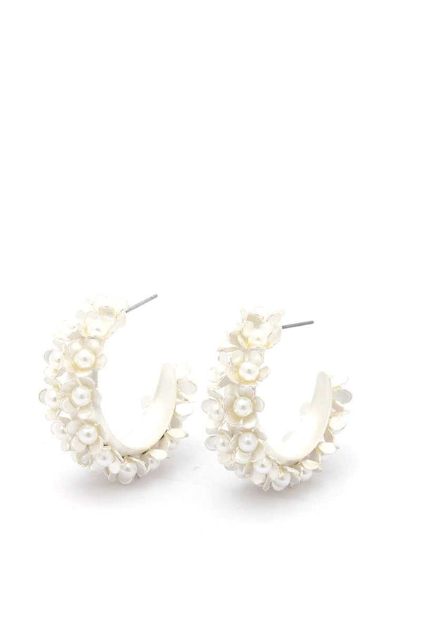 Chunky Flower Earring demochatbot
