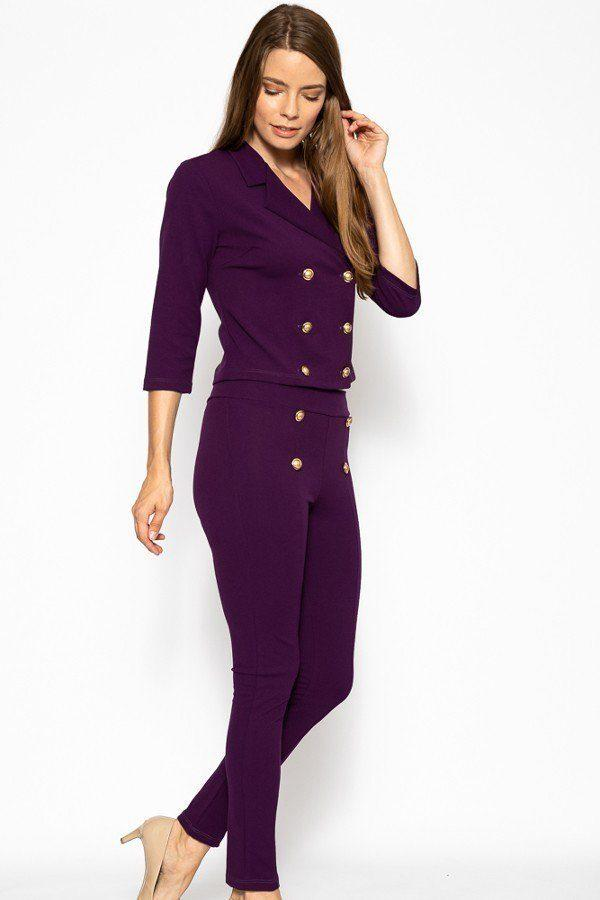 Classic Pant Suit Set demochatbot