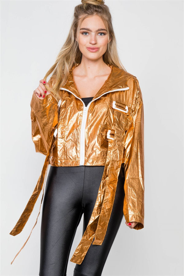 Cropped Lightweight Long Sleeve Jacket demochatbot
