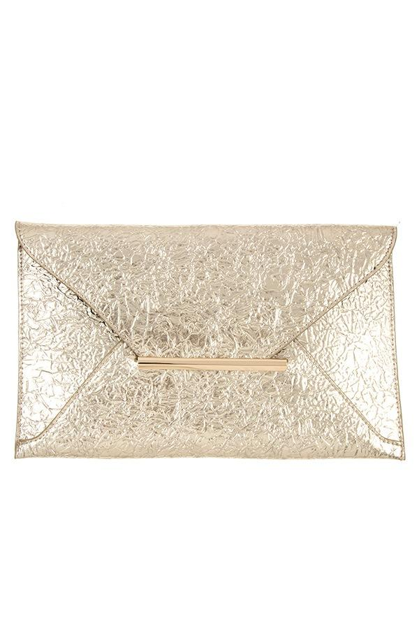 Faux wrinkled leather clutch bag demochatbot