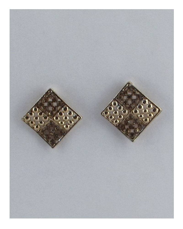 Four square diamond shape earrings demochatbot