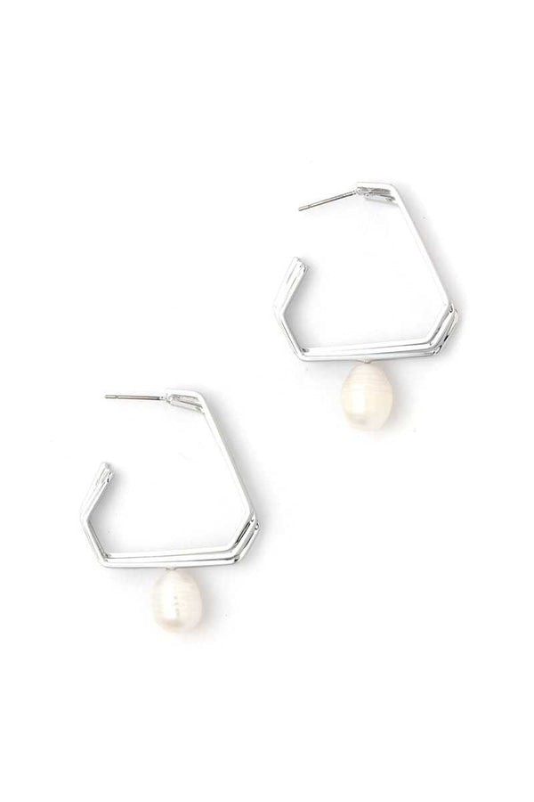 Pearl Dangle Drop Earring demochatbot