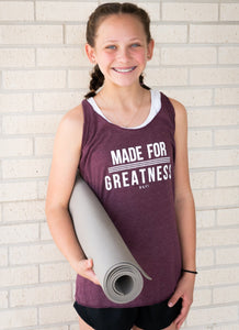 Made for Greatness Tank | Graced Competitor