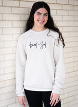 Load image into Gallery viewer, Heart + Soul Sweatshirt | Graced Competitor
