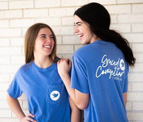 Graceful Pocket Tee | Graced Competitor