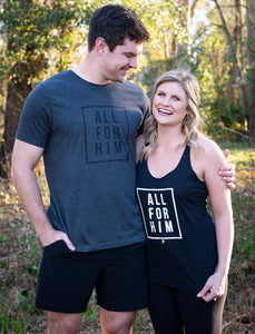 All For Him Tank | Graced Competitor