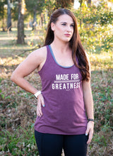 Load image into Gallery viewer, Made for Greatness Tank | Graced Competitor