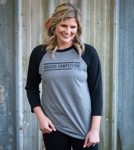 Vintage Baseball Tee | Graced Competitor