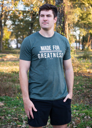 Made for Greatness Tee | Graced Competitor