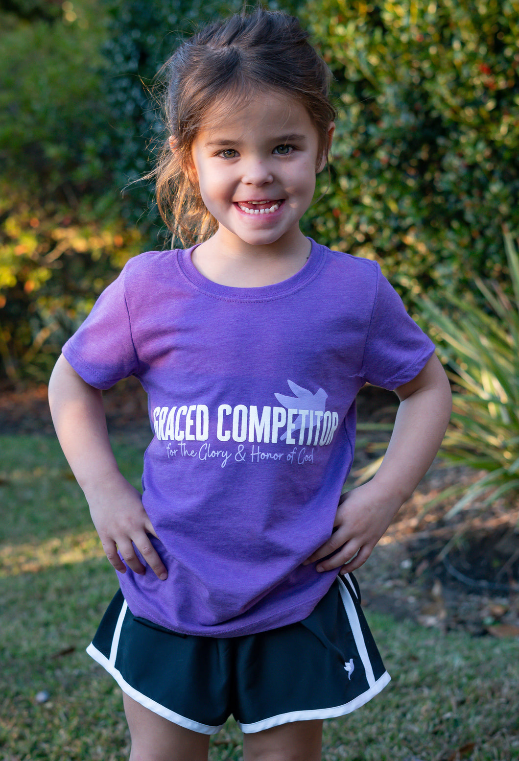 Glory and Honor Tee Youth | Graced Competitor