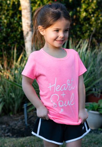 Heart + Soul Tee Youth | Graced Competitor