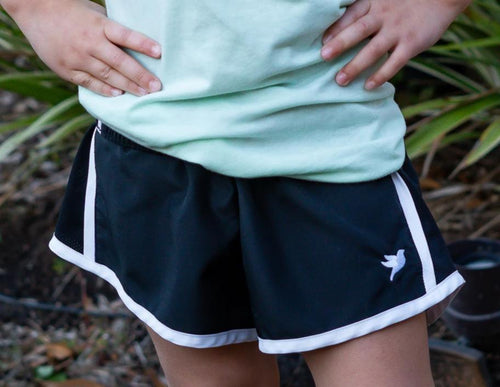 Simple Dove Athletic Shorts | Youth