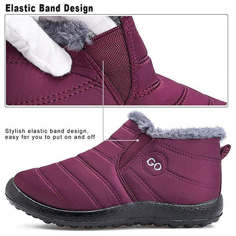 Bestwalk Montreal - Boots for Women with Warm Plush