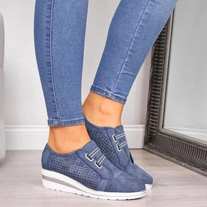 BESTWALK™ Hannah High Heel Breathable Sneakers