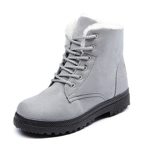 Bestwalk Nebraska Boots for Women with Warm Plush