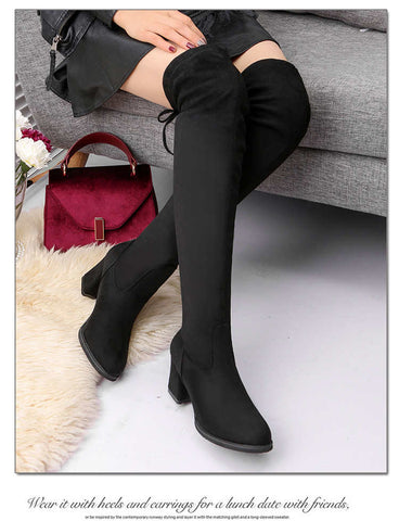 Bestwalk Paris Premium Thigh High Boots for Women