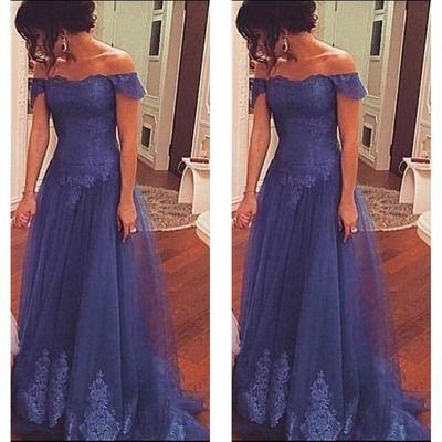 Off the shoulder Real Made Prom Dresses Evening Gowns Evening Dress