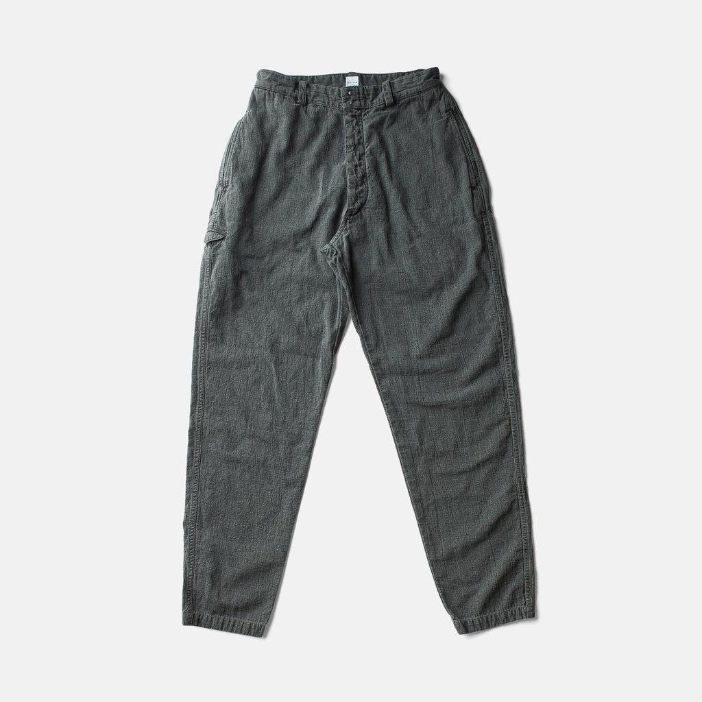 """ITTO UNSAI"" COTTLE PANTS-SUMI INK"