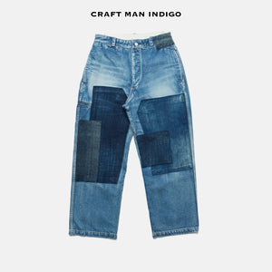C.T.L STANDARD DENIM PANTS-BIZEN ICHIGO - SOLID RIGID (NON WASH)