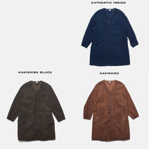 """ ITTO UNSAI "" TOWN COAT - AUTHENTIC INDIGO"