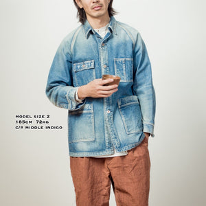 C.T.L TRAVELING JACKET - SOLID RIGID (NON WASH)