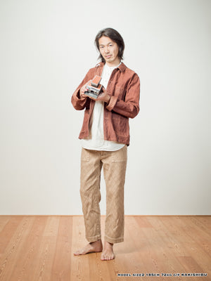 """ ITTO UNSAI "" TOWN JACKET - COFFEE"