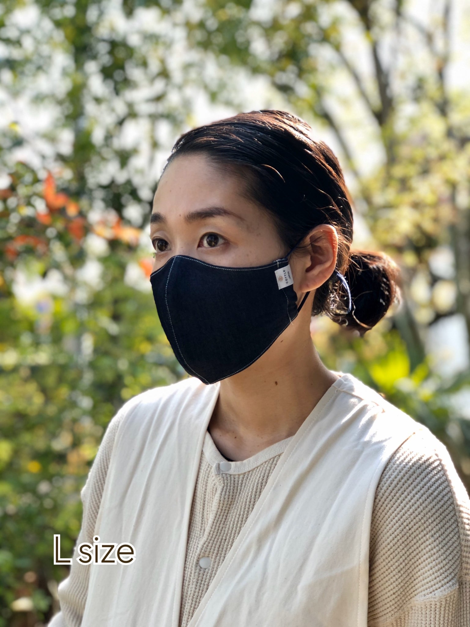 HUMMING MASK ー DENIM COOL MAX-3pieces or 5pieces in 1 pack