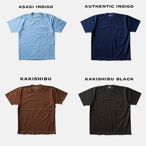 MAGIC WAYS T SHIRT-KATAZOME INDIGO