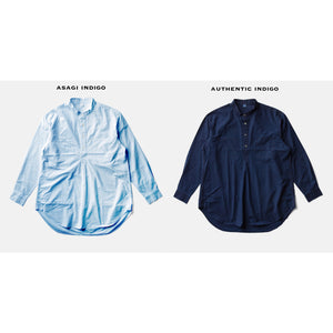 ZEN LOAN SHIRTーAUTHENTIC INDIGO