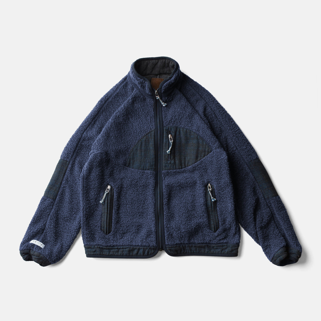 SUNSET PILE JACKET - INDIGO LAOS