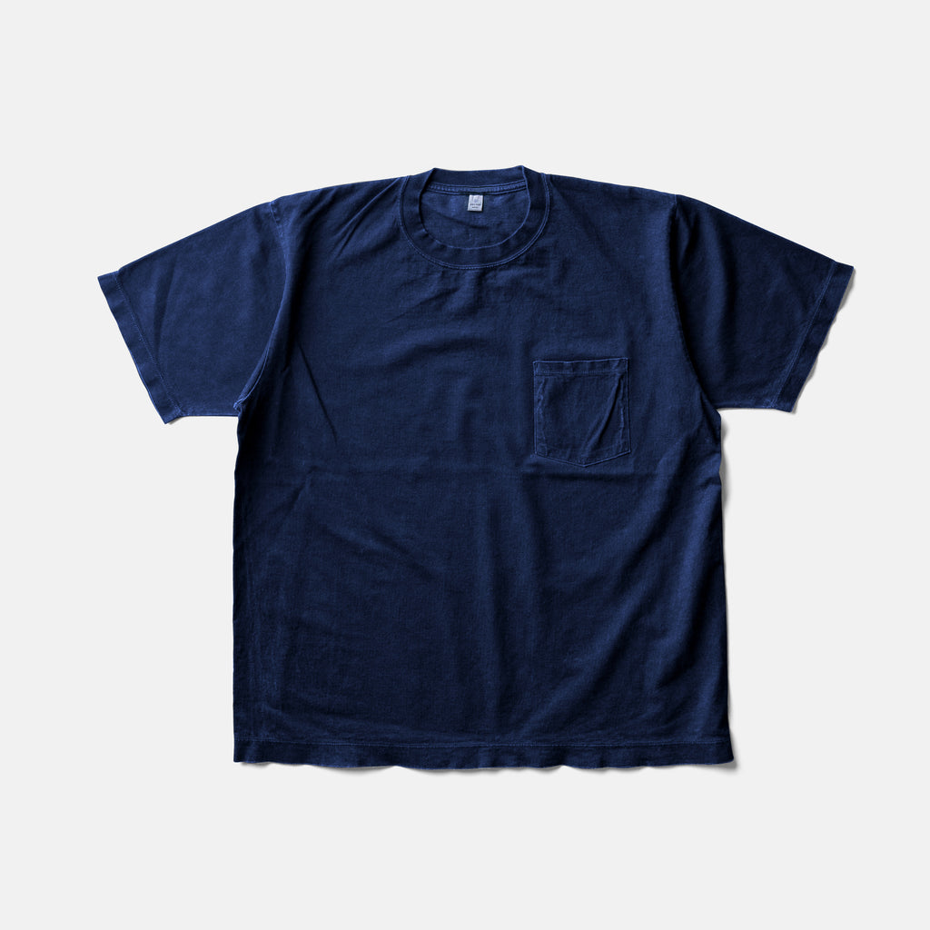 MAGIC WAYS T SHIRTーAUTHENTIC INDIGO