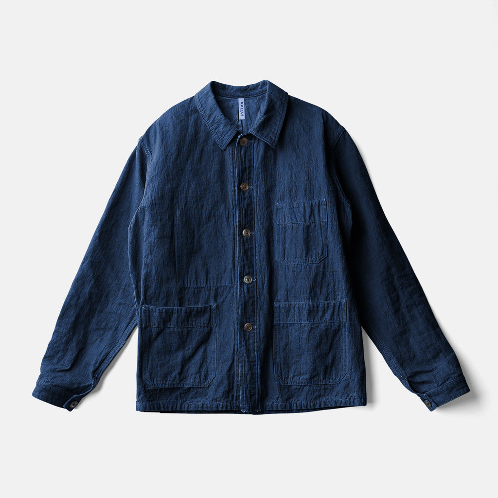 """ ITTO UNSAI "" TOWN JACKET - AUTHENTIC INDIGO"