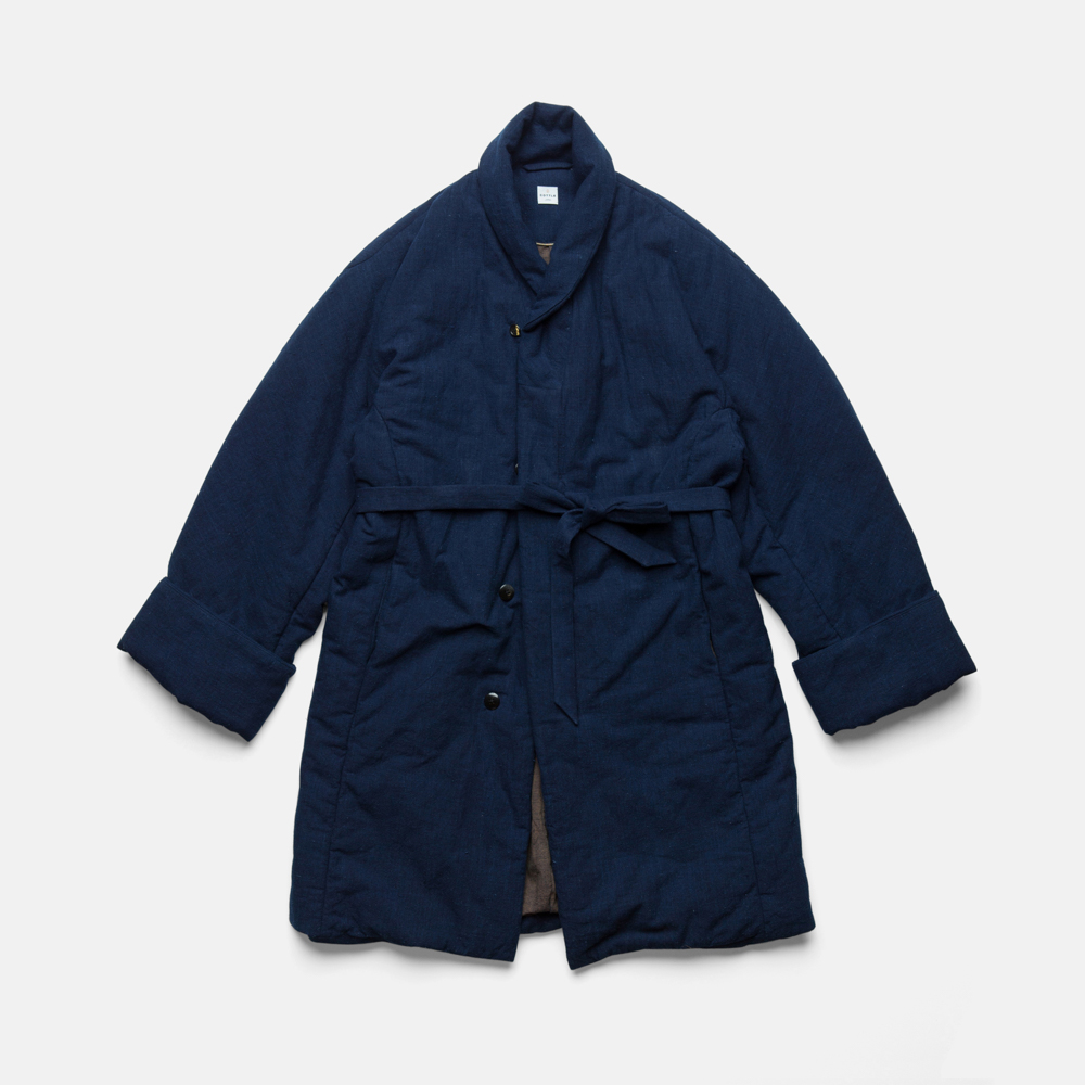 ZEN COAT-AUTHENTIC INDIGO